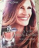 AFFICHE - Lancôme \ Julia ROBERTS - Eau / La vie Est Belle - 120x175 cm - AFFICHE / POSTER