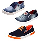 #9: Earton Men Combo Pack of 3 Casual Shoes With Loafer & Moccasion