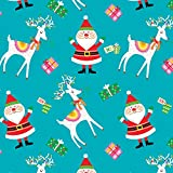 Fabric Editions FE31 Weihnachts-Stoffe, Weihnachtsmann,