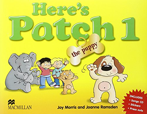 Here's Patch the Puppy: Level 1: Pupil's Book with Songs Audio-CD
