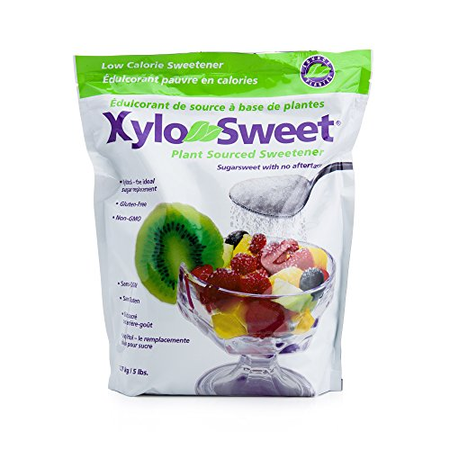 Xlear XyloSweet Xylitol Natural Sugarfree Sweetener 5 Lbs (2268 gms) Bag