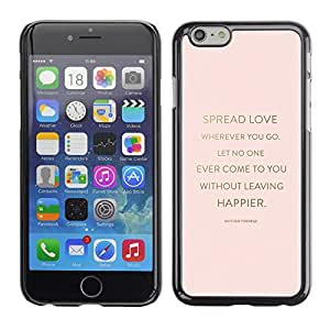 Omega Covers - Snap on Hard Back Case Cover Shell FOR Apple Iphone 6 Plus / 6S Plus ( 5.5 ) - Love Quote God Religion Christian Peach Gold