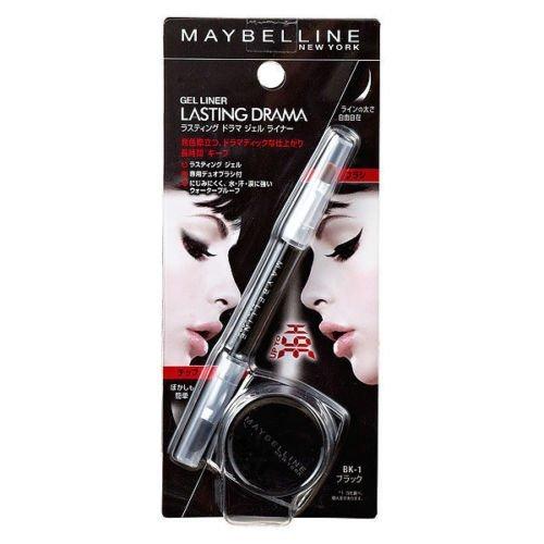 Maybelline Lasting Drama Gel Eyeliner With Brush - Black