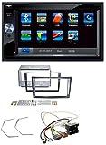 caraudio24 Blaupunkt Santa Cruz 370 SD Bluetooth 2DIN MP3 USB AUX Autoradio für Opel Corsa D Stealth schwarz