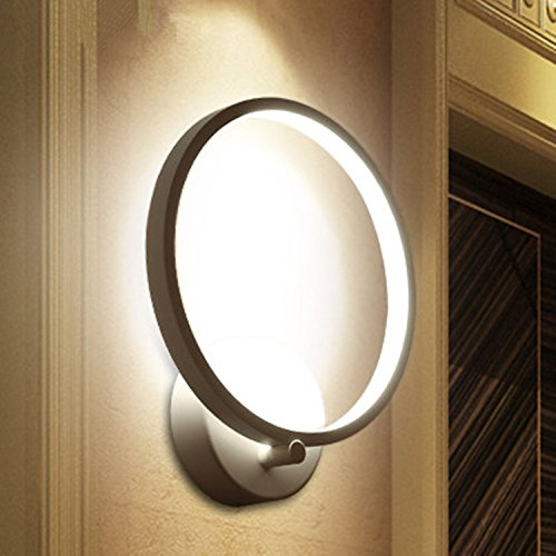Lightess Lampada da Parete Elegante a LED 12W, Stile Moderno ...