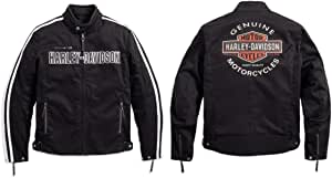 Harley Davidson Rally Textile Riding Jacket 98163 17em Large Auto
