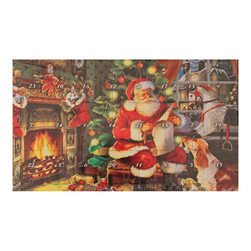 Krebs Glas Lauscha - Adventskalender mit Weihnachtsbaumschmuck - Glasanhänger - Glaskugeln - Glasfiguren (2018)