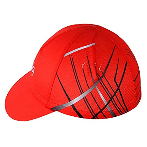 HYSENM Men Breathable Sweat Absorption Cycling Sports Hat Helmet Liner Cap Sun UV Protection Quick Dry Antibacterial,