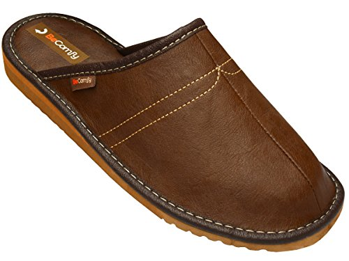BeComfy , Chaussons pour homme Marron