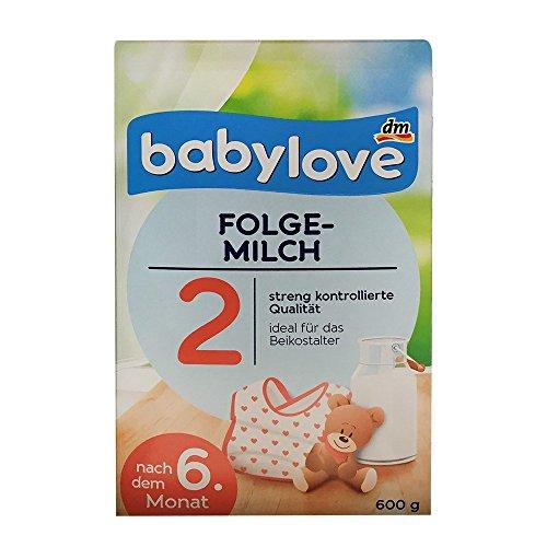 babylove Bio Folgemilch 2 nach dem 6. Monat (600g Box)