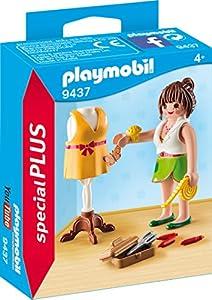 PLAYMOBIL- Diseñadora Juguete, Multicolor (geobra Brandstätter 9437)