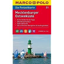MARCO POLO Freizeitkarte Mecklenburger Ostseeküste 1:100.000