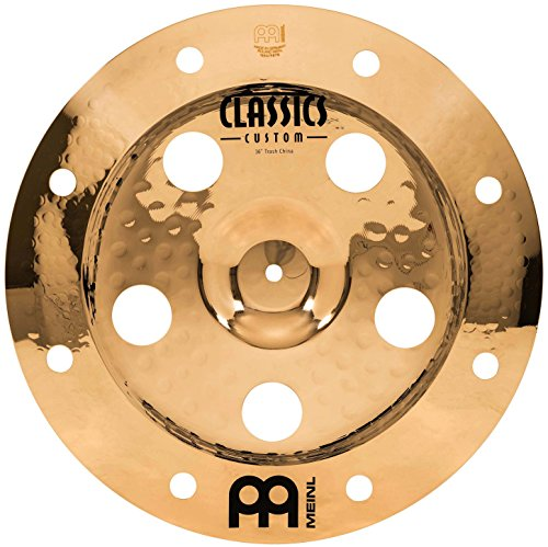 Meinl Cymbals CC16TRCH-B Classics Custom Serie 40,64 cm (16 Zoll) Trash China Brilliant Finish Becken