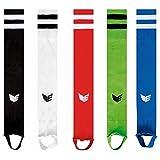 Erima Stutzen Stegstutzen Streifenstutzen für Kinder Junioren Erwachsene verschiedene Farben, Grösse:28 - 32;Farben:Schwarz