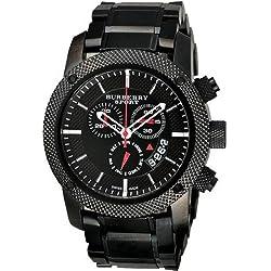 BURBERRY BU7703 - Reloj para hombres, correa de metal