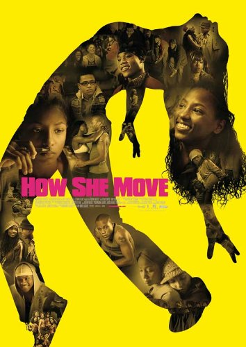 How She Move Plakat Movie Poster (27 x 40 Inches - 69cm x 102cm) (2007) German