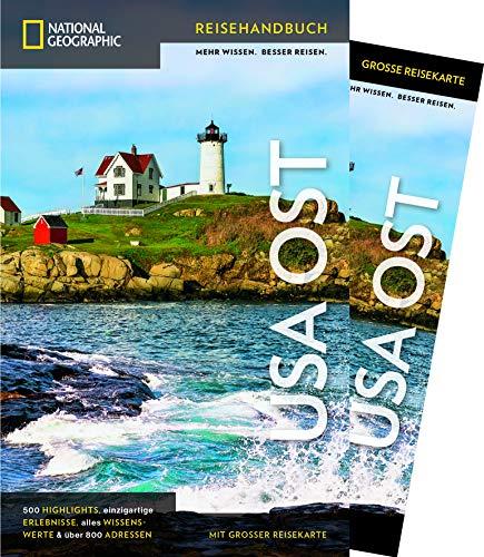 NATIONAL GEOGRAPHIC Reisehandbuch USA – Der Osten: Der ultimative Reiseführer mit über 500 Adressen und praktischer Faltkarte zum Herausnehmen für alle Traveler. NEU 2019 (NG_Traveller)