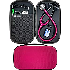 Pod Technical Cardiopod II Stethoscope Case for all Littmann Stethoscopes – Raspberry