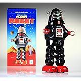 Espacio FD Bombero Robot Tin Toy Windup Espacio pioneros y astronautas