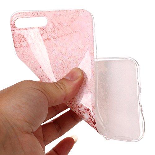 Custodia iPhone 7 / 8 Plus - Cover in Silicone TPU - Surakey iPhone 7 Plus Custodia Slim Ultra Sottile Gomma Morbida Gel Case Frasi 3D Modello di Colorate Antigraffio Antiurto Protezione Posteriore Ca Modello#14
