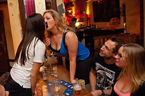 Trinkspiel-Partyspiel-JAREDS-CUP-Das-offizielle-Party-Kartenspiel-von-Evil-Jared-Hasselhoff-von-der-Bloodhoundgang-100-wasserfeste-Spielkarten-aus-flexiblem-Polymer-Partyspiel-Saufspiel-The-most-fun-y