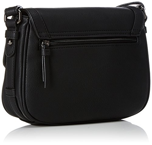 Sansibar - Flap Bag, Borse a tracolla Donna Nero (Black)