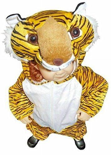 AN28, 92-98 , Tiger Kostüm für Babies und Kleinkinder für Fasching, Karneval, Fasnacht , Tigerkostüm Kostüme Kind Kinder Kinderkostüme Faschingskostüme Tierkostüme Karnevalskostüme Tigerkostüme