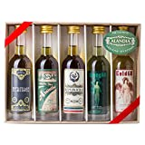 Absinth Tasting Set mit Premium Absinth von ALANDIA - (5x 50 ml / 68% Vol)