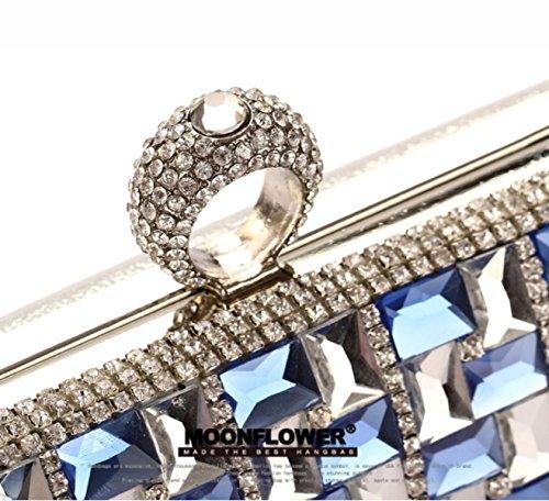 Strawberryer Europe Et Les Etats-Unis Forfait Diamant Sac Robe Sac à Main Femmes Sac Décoration Banquet a