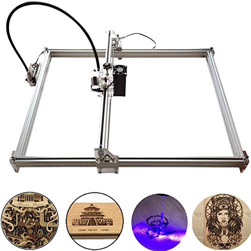 Doris Direct 5500mw Carving Machine DIY Kit, Desktop USB Laser Engraver Carver, Engraving Area 650mm * 500mm Accuracy Adjustable Laser Power Printer Carving & Cutting with Protective Glasses
