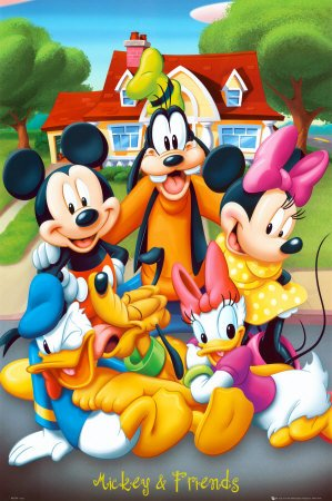 1art1-43356-poster-walt-disney-mickey-mouse-and-friends-91-x-61-cm