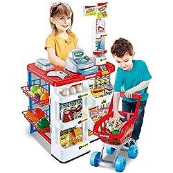 Inside Out Toys - Supermarché et Caddie - Jouet pour Enfant - Jouet d'imitation