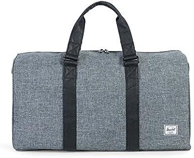 Herschel - Bolsa de viaje  gris Raven Crosshatch/Black talla única