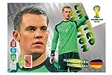 Panini Adrenalyn XL WM 2014 Brasilien - Neuer Deutschland limited Edition