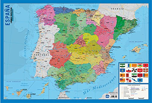Grupo Erik Editores Lamina Educativa Mapa España