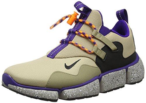 Nike Herren Pocketknife Dm Gymnastikschuhe, Beige (Linenblackkhakicourt Purple), 40 EU (Lebron Herren-nike Schuhe)