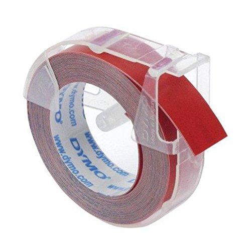 DYMO Ruban pour etiqueteuse 9 mm x 3 m Rouge brillant