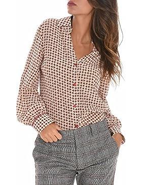 Altea Camicia Donna 176460931 Seta Rosa