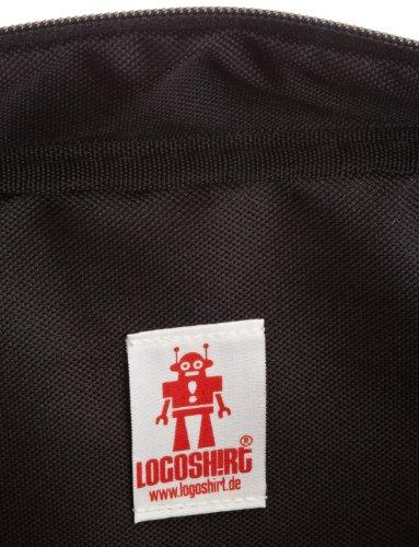 Logoshirt Borsa Messenger, nero (Nero) - 140-0864-001 nero