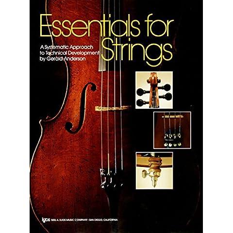Essentials For Strings Viola. For Gruppo d'Archi, Viola - Gruppo String