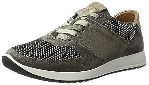 Legero Amato Damen Sneaker, Grau (Ematite 88), 43 EU (9 UK)