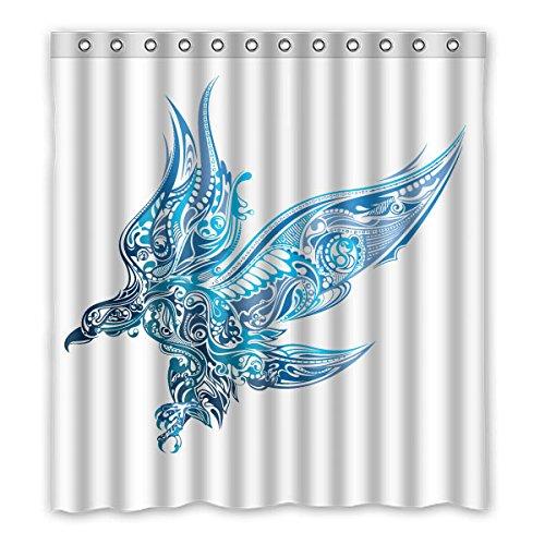 167cm X183cm (167,6x 182,9cm) Badezimmer Dusche Vorhang, allgemeine Benutzerdefinierte Farbe Skorpion Puzzle Fashion Mehltau Duschvorhang, Polyester, C, 66