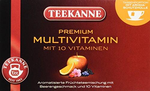 Teekanne Premium Multivitamin 20 Beutel, 5er Pack (5 x 60 g)