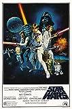 Star Wars: Krieg der Sterne: Style C (1977) | Filmplakat, Poster [61 x 91,5 cm]