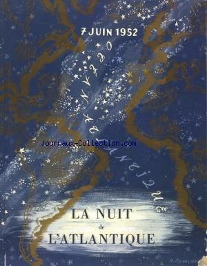 NUIT DE L'ATLANTIQUE (LE) du 07/06/1952