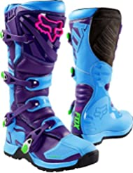 Botas Mx Fox Limited Edition Comp 5 Vicious Azul (Eu 44 / Us 10 , Azul)