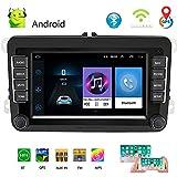 Autoradio 2 Din 7'Lecteur multimédia multimédia pour Voiture Android 8.1 Autoradio autoradio de Navigation stéréo pour WiFi GPS pour Skoda V/W Passat B6 Polo Golf