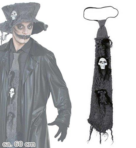 Halloween Zombie-Krawatte (Kostüm Halloween Punk Zombie)