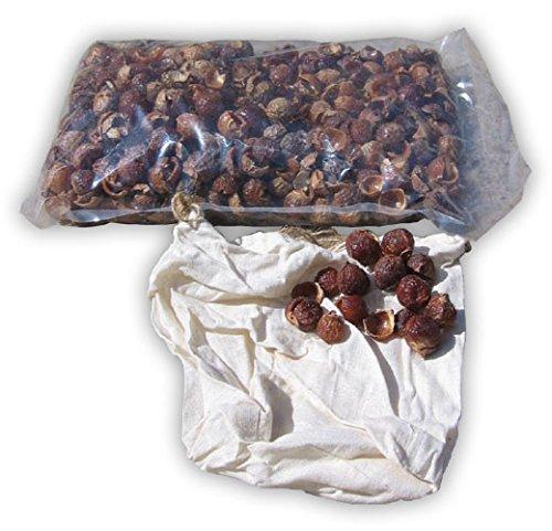 Waschnuss-Schalen Waschnüsse 1kg inkl. Stoffbeutel / biologisches Waschmittel