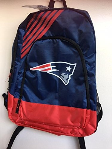 New England Patriots Bordüre Streifen Schule Rucksack